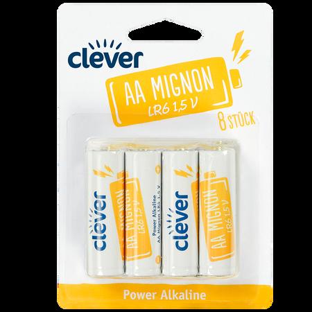 clever Power Alkaline AA Mignon LR6 1.5 V