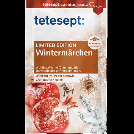 tetesept: Limited Edition Wintermärchen - winterliches Pflegebad