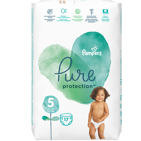 Pampers Pure Protection Gr. 5 Junior 11+ kg