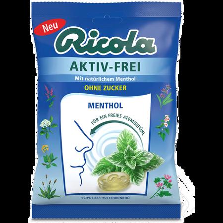 Ricola Aktiv-Frei Menthol Hustenbonbons Zuckerfrei