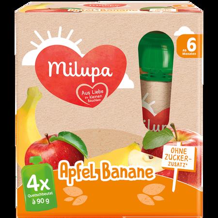 Milupa Apfel Banane Quetschbeutel