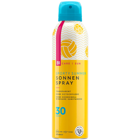 BI CARE SUN  Sporty Summer transparenter Sonnenspray LSF 30