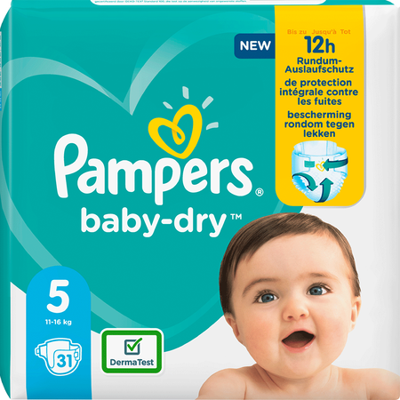 Pampers Baby-Dry Gr. 5 (11-16kg) Einzelpack