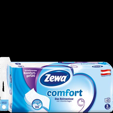 Zewa Comfort Das Reinweisse Toilettenpapier