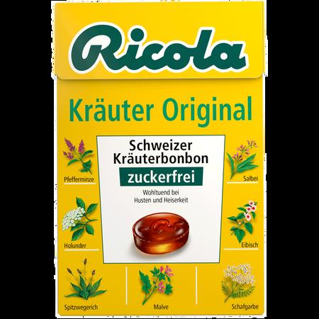 Ricola Duo Kräuter Original Schweizer Kräuterbonbon
