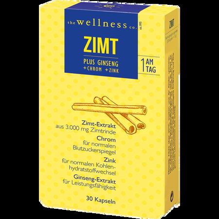 the wellness co. Zimt plus Ginseng Kapseln