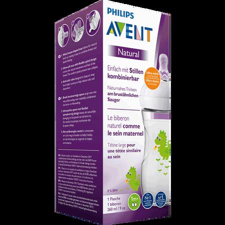 PHILIPS AVENT Flasche Naturnah, 260ml, 1 Monat+, Drache