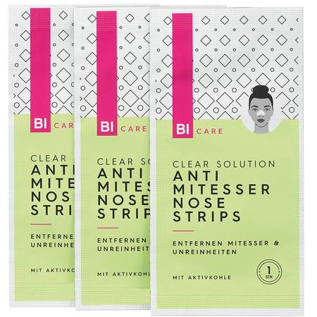BI CARE Clear Solution Anti Mitesser Nose Strips