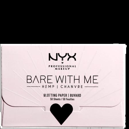 NYX Professional Make-up Nyx Hemp Blotting Paper Bare With Me
