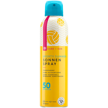BI CARE SUN  Sporty Summer transparenter Sonnenspray LSF 50