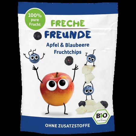 Freche Freunde Fruchtchips Apfel Blaubeere
