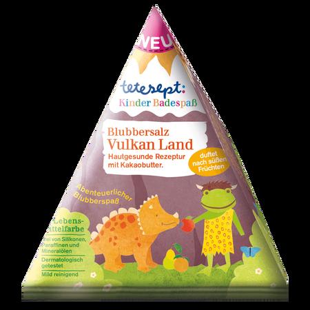 tetesept: Kinder Blubbersalz Vulkan Land