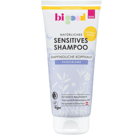 bi good Natürliches Sensitives Shampoo Kugelblume