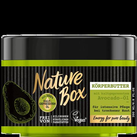 Nature Box Körperbutter Avocado-Öl
