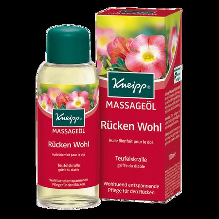 Kneipp Massageöl Rücken Wohl Teufelskralle