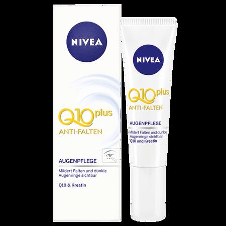 Bild: NIVEA Anti-Falten Q10 plus Augenpflege  NIVEA Anti-Falten Q10 plus Augenpflege