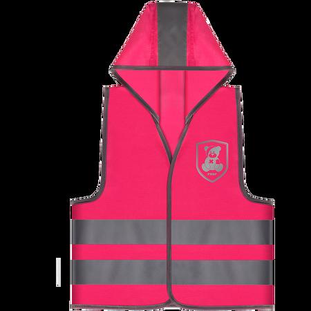 reer Sicherheitsweste pink