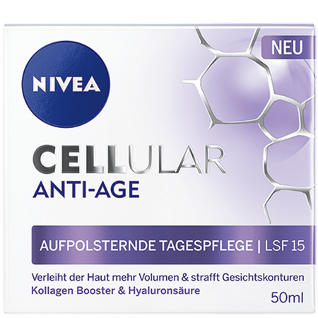 NIVEA Cellular Anti Age aufpolsternde Tagespflege LSF 15