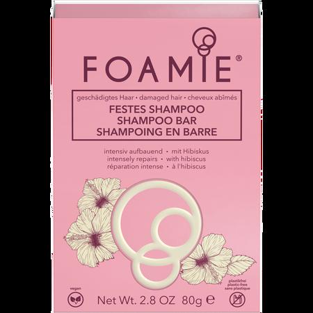 FOAMIE Festes Shampoo für Geschädigtes Haar