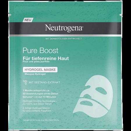 Neutrogena Pure Boost Hydrogel Maske