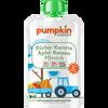 Bild: pumpkin organics Quetschbeutel Kürbis Karotte Apfel Banane Pfirsich