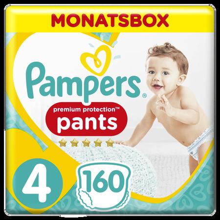 Pampers Premium Protection Pants,   Gr.4, 9-15kg, Monatsbox