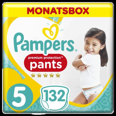 Pampers Premium Protection Pants,   Gr.5, 12-17kg, Monatsbox