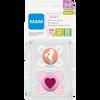 Bild: MAM Schnuller Start, 0-2 Monate, Silikon, rosa
