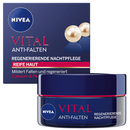 NIVEA Visage Vital Regenerierende Nachtpflege