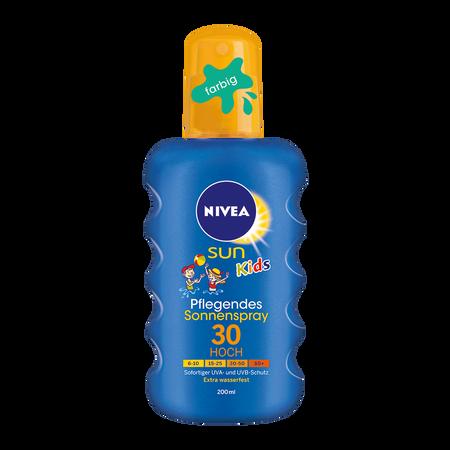 NIVEA Sun Kids Pflegendes Sonnenspray LSF30