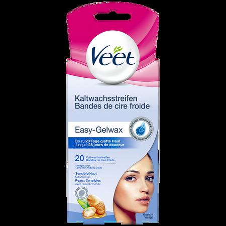 Veet Kaltwachsstreifen Gesicht sensible Haut