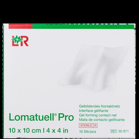 LOHMANN & RAUSCHER Lomatuell® Pro Gelbildendes Kontaktnetz 10 x 10 cm