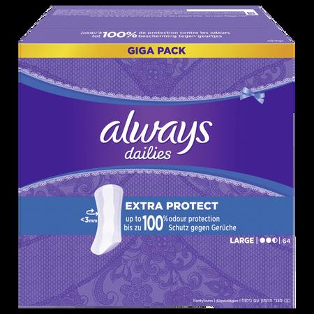 always dailies Fresh & Protect Slipeinlagen extra protect Giga Pack