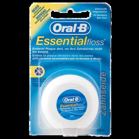 Oral-B Essentialfloss Zahnseide ungewachst