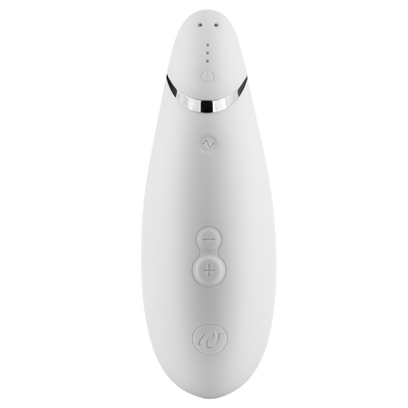 Bild: Womanizer Druckwellenvibrator Premium White Chrome  Womanizer Druckwellenvibrator Premium White Chrome