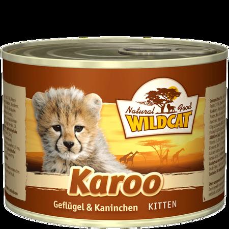 Wildcat Karoo Kitten Geflügel Kaninchen
