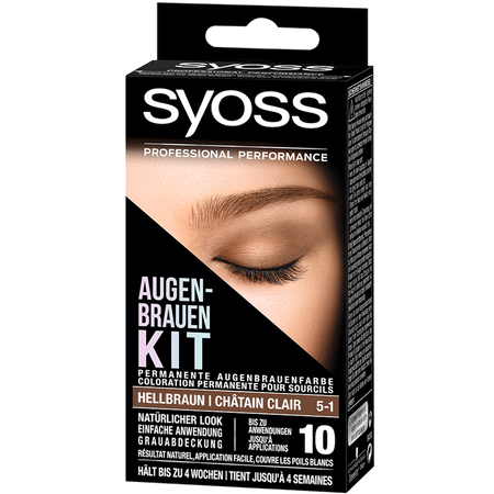 Bild: syoss PROFESSIONAL Augenbrauen Kit hellbraun syoss PROFESSIONAL Augenbrauen Kit