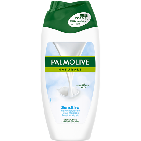Palmolive Naturals Cremedusche Sensitive mit Milchproteinen