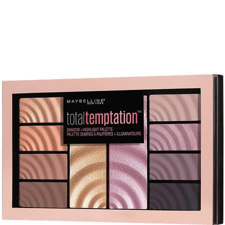 MAYBELLINE Total Temptation Eyeshadow & Highlighter Palette