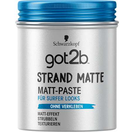 Bild: Schwarzkopf got2b Strand Matte Surfer Look Matt-Paste  Schwarzkopf got2b Strand Matte Surfer Look Matt-Paste