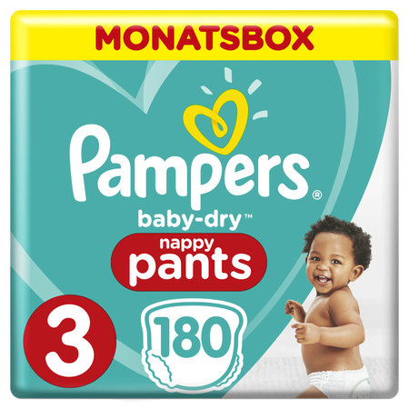 Pampers Baby Dry Pants Gr.3 Midi 6-11kg MonatsBox