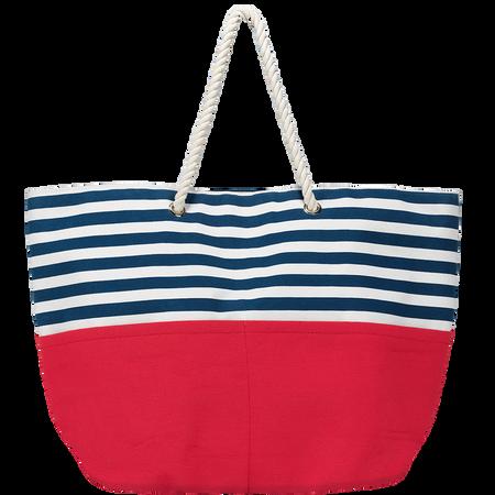 LOOK BY BIPA Marine Tasche gestreift