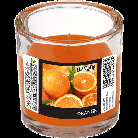 Gala Duftkerze Glas Orange