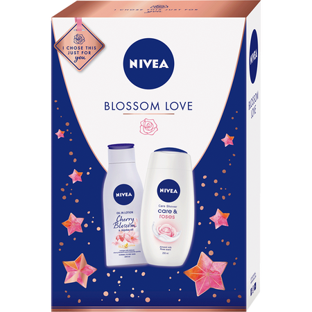 NIVEA Blossom Love Weihnachtsbox