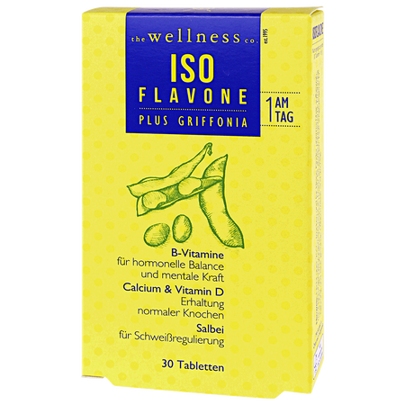 the wellness co. Isoflavone Tabletten