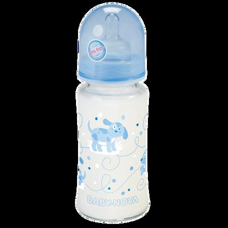 BABY-NOVA Weithals Glasflasche