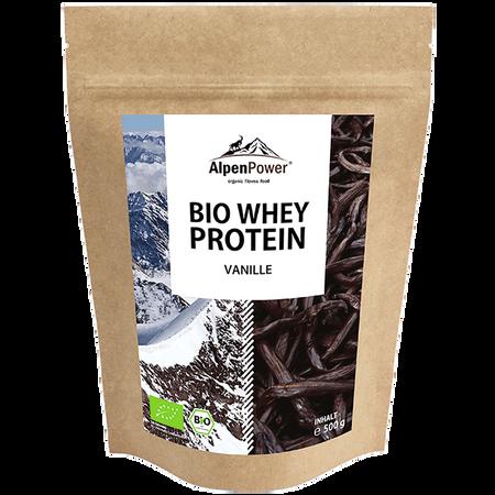 AlpenPower Bio Whey Protein Vanille