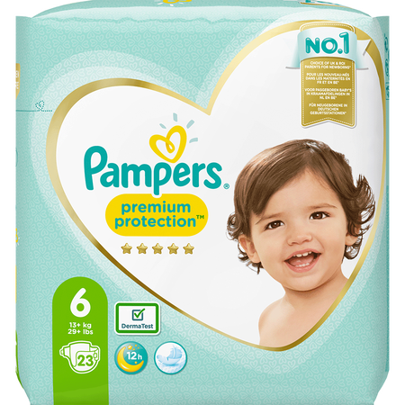 Pampers Premium Protection Gr. 6 (13-18kg) Einzelpack
