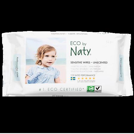 Eco by Naty Feuchttücher unparfümiert 3er-Pack