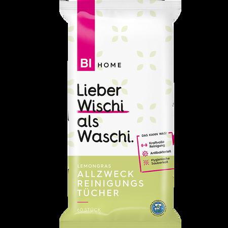 BI HOME Allzweck Reinigungstücher Lemongras